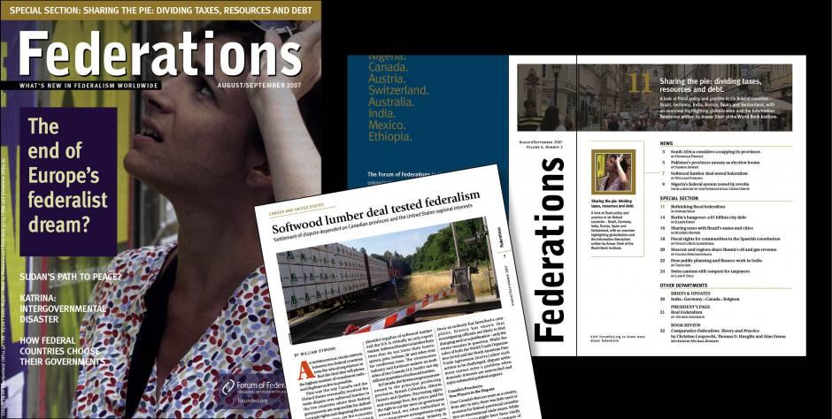 Federations Magazine, Look & Feel